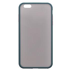 Ốp Mặt Lưng Mờ Viền Dẻo Dành cho iPhone 6/7/8/6 Plus/ 7 Plus/ 8 Plus/X/ Xs/ XR/ Xs Max/ 11/ 11 Pro/ 11 Pro Max- Handtown- Hàng Chính Hãng