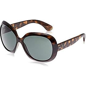 Ray-Ban Women's RB4098 Jackie Ohh II Oversized Sunglasses