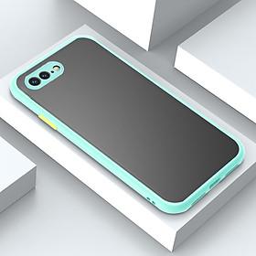 Ốp Lưng Nhám Viền Màu Bảo Vệ Camera Thế Hệ Mới Dành Cho iPhone 7 PLUS/ 8 PLUS/X / XS / XR / XS MAX / 11 Pro / 11 Pro Max- Handtown- Hàng Chính Hãng