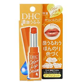 Son Dưỡng DHC Color Lip Cream Màu Cam