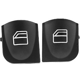 Fun For Mercedes W203 C-CLASS Power Window Switch Console Cover Caps #A2038210679 2038200110 - 1 pair
