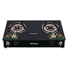 Bếp Gas Đôi Mặt Kính Kangaroo KG503 - Hàng chính hãng