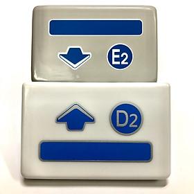 Bộ 2 tay cửa E2, D2 máy photocopy dùng cho Ricoh 1060, 1075, 2060, 2075, 5500, 6500, 7500, 6001, 7001, 8001, 9001, 6002, 7502, 8002, 9002, 6503, 7503