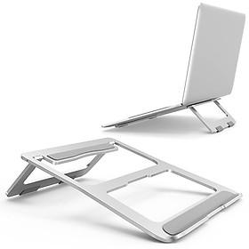 Đế tản nhiệt có thể gập gọn, hợp kim nhôm 4mm dành cho laptop, MacBook - DTN14