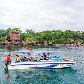 [Phú Quốc] Tour 4 Đảo Bằng Cano 01 Ngày: Hòn Móng Tay, Hòn Gầm Ghì, Hòn Mây Rút, Hòn Thơm