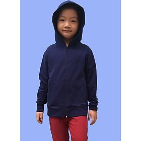 Áo khoác chống nắng vải da cá trẻ em GOKING, 100% cotton thoáng mát, thấm hút mồ hôi, khử mùi, kháng khuẩn, chống tia UV, 6 túi hiện đại