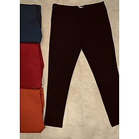 Quần legging kaki thun vải dày