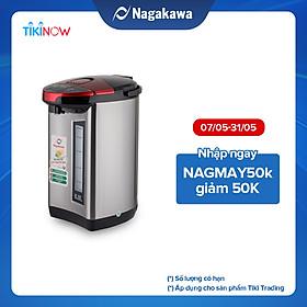 Bình Thủy Điện 3 Mức Nhiệt Nagakawa NAG0405 (5.0 Lít) - Hàng Chính Hãng