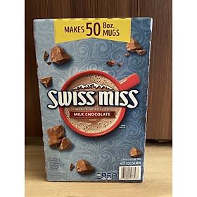 Bột cacao sữa swiss miss chocolate hộp 50 gói 1.95kg