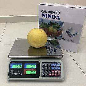Cân điện tử NiNDA SN268 cân tối đa 30kg- Hàng Chính Hãng