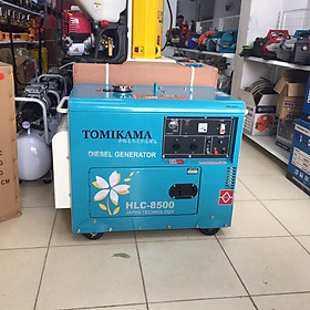 Máy phát điện Tomikama HLC 8500 công suất 7kw chạy dầu