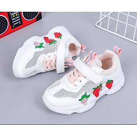 Giày thể thao cho bé gái 3 - 13 tuổi  đế Eva siêu nhẹ chất mềm thoáng khí -TSS070