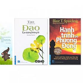 Combo 2 cuốn: Đạo - Con Đường Không Lối, Hành Trình Về Phương Đông + Bookmark danh ngôn hình voi