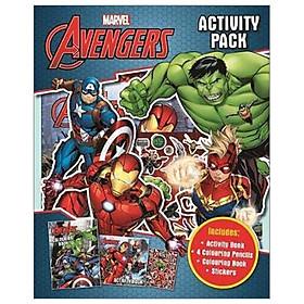 Marvel Avengers: Activity Pack (2-in-1 Activity Bag Marvel)