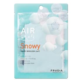 Mặt Nạ Dưỡng Ẩm Frudia Air Mask 24 Snowy Làm Trắng Da 25ml
