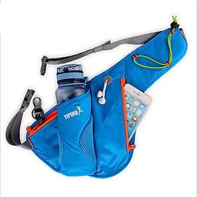 Túi đai đeo bụng hông chạy bộ phản quang YIPINU có ngăn đựng bình nước YS9