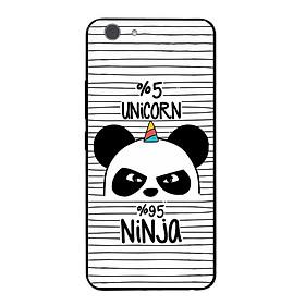 Ốp điện thoại in họa tiết Ninja Gấu trúc dành cho điện thoại Vivo Y53