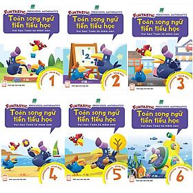 Bộ 6 cuốn Toán Song Ngữ Tiền Tiểu Học: Sách Học