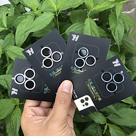 Bộ 3 Vòng Bảo Vệ Camera Dành Cho iPhone 12Pro Max - Chống Bụi, Hạn chế vân tay & Mờ Camera - Bảo Vệ Toàn Diện Cho Camera Dế Yêu Của Bạn