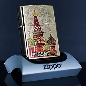 Bật Lửa Zippo 254b Kremlin Russia