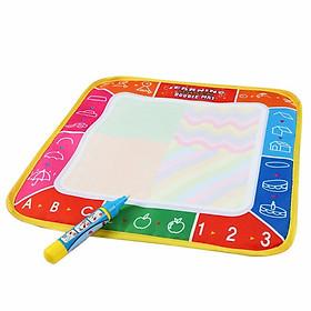 Bảng tập viết, tập vẽ ma thuật tự xóa 80x60 cho các con học tập và vui chơi
