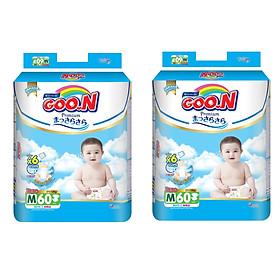 2 Gói Tã Dán Goo.n Premium Gói Cực Đại M60 (60 Miếng)