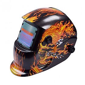 Mặt Nạ Hàn Điện Tử - Flame Skeleton