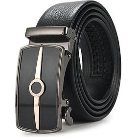 Thắt lưng da nam, dây nịt nam da cao cấp khóa tự động - TOPEE TPO (Hàng Mới Về)