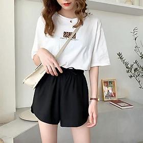 Quần đùi nữ , Quần short nữ vải Thái có Big Size 40-80kg rất đẹp và thoải mái