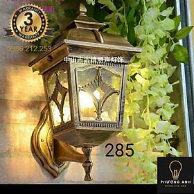 Đèn chùa đồng gắn tường trụ cổng trang trí ngoại thất sân vườn, cổng ra vào cổ điển sang trọng mã 285