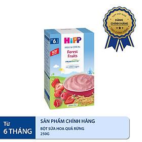 Bột ăn dặm dinh dưỡng Sữa, Hoa quả rừng HiPP Organic 250g
