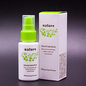 Serum dưỡng trắng da Nhật Bản Naris Nature Whitening Serum (30ml) – Hàng Chính Hãng
