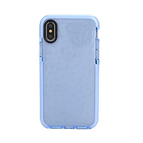 Mobile Phone Case Protector Cover Lovely Diamond Grain TPU+PC Anti-Scratch Anti-Collision for iPhoneX -