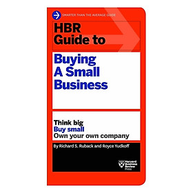 Harvard Business Review: Guide To Buying A Small Business
