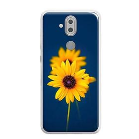 Ốp lưng dẻo cho Nokia 8.1 ( Nokia X7 2018) - 0340 SUNFLOWER07 - Hàng Chính Hãng
