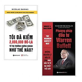 Combo 2 cuốn sách kinh tế tâm đắc nhất: Tôi Đã Kiếm Được 2.000.000 Đô-La Từ Thị Trường Chứng Khoán Như Thế Nào?  + Phương Pháp Đầu Tư Warren Buffett Phương Pháp Đầu Tư Warren Buffett ( tặng kèm bookmark)