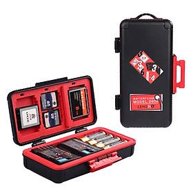 D950 Camera Battery Box Shockprrof Waterproof Case for Canon/Sony /Nikon Battery Case SD CF Memory Card Storage