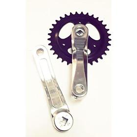 Dĩa xe đạp điện 33Rx18cm nhôm vuông