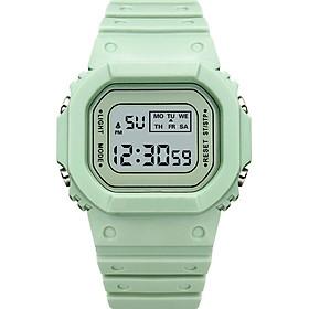 Đồng hồ điện tử thể thao chống nước Sports SP117 nam nữ siêu đẹp dây cao su cực bền - Có đèn ban đêm và báo thức