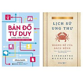 Combo Sách : Bản Đồ Tư Duy Dành Cho Sinh Viên Y Khoa + Lịch Sử Ung Thư - Hoàng Đế Của Bách Bệnh (Bìa Mềm - Tái Bản 2020)