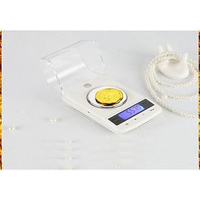 Cân điện tử- Cân tiểu ly tải trọng 50g để bàn cao cấp (Tặng móc treo đồ dán tường nhà bếp-màu ngẫu nhiên)