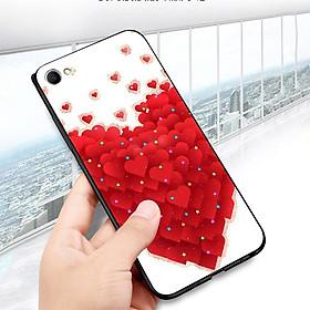 Hình đại diện sản phẩm Ốp lưng điện thoại Oppo R9S - trái tim tình yêu MS LOVE033 - Hàng Chính Hãng