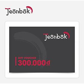 Jeonbok - Phiếu Quà Tặng 300K
