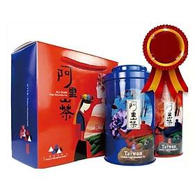 Hộp trà ô long hương thơm hấp dẫn đại diện nét đẹp trà Đài Loan (150gx2 gói)