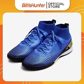 Giày Bóng Đá Nam Biti's Hunter Football High-Top Admiral Blue DSMH03800XDG (Xanh Dương)