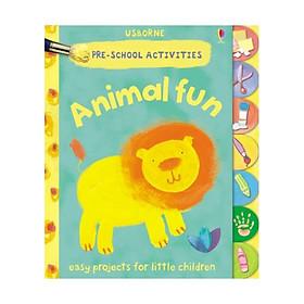 Usborne Preschool Activities Animal Fun