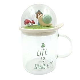 Ly Thủy Tinh (430ml) SF9456 - Life Is Sweet