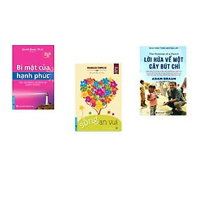 Combo 3 cuốn sách: Bí Mật Của Hạnh Phúc + Sống An Vui + Lời hứa về một cây bút chì