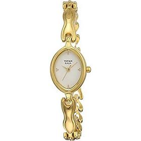 Titan Women's 2370YM03 Raga Inspired Gold Tone Watch