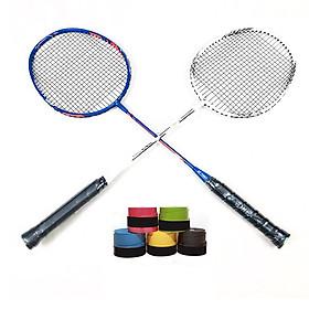 Bộ 2 Vợt Cầu Lông Yonex tặng kèm 2 cuộn quấn cán vợt (Màu Ngẫu Nhiên)